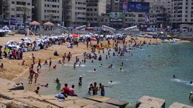 مصيف الإسكندرية يتحول إلى مأتم كبير