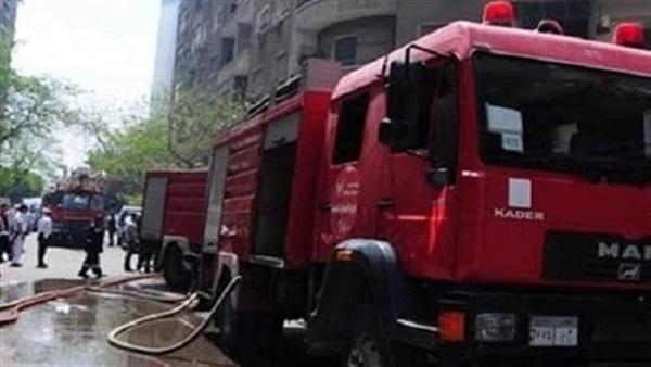 3 سيارات إطفاء للسيطرة على حريق شقة ببولاق الدكرور