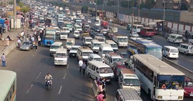 توقف حركة المرور بسبب حادث بصفط اللبن
