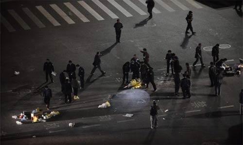 """15 قتيلا في """"هجوم ارهابي"""" بالصين"""
