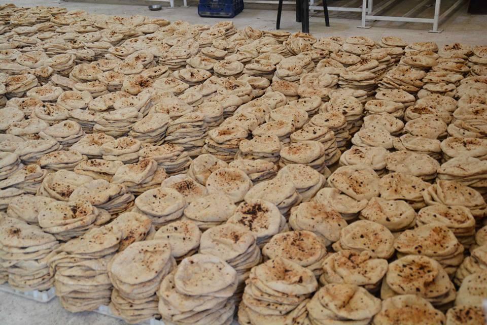 ضبط صاحب مخبز استولى على 30 ألف رغيف بالمنوفية