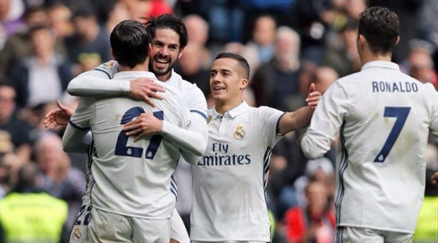 ريال مدريد يقهر إسبانيول بثنائية فى الليجا