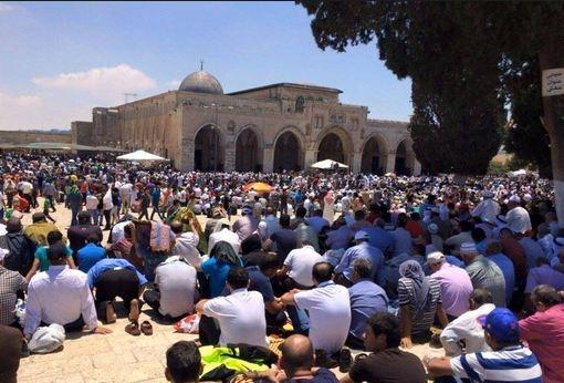 «الحركة الإسلامية بفلسطين»: أطراف فلسطينية وافقت على تقسيم «الأقصي»