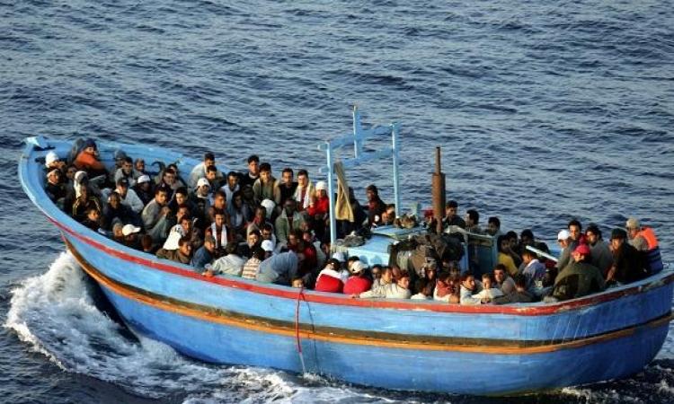 إحباط هجرة 79 شخصًا من البرلس إلى إيطاليا