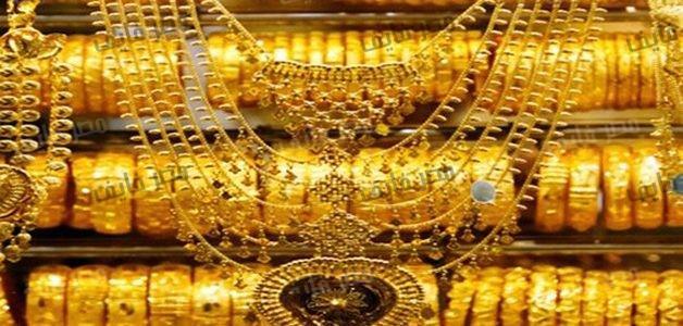 الذهب يسجل 595 جنيهاً