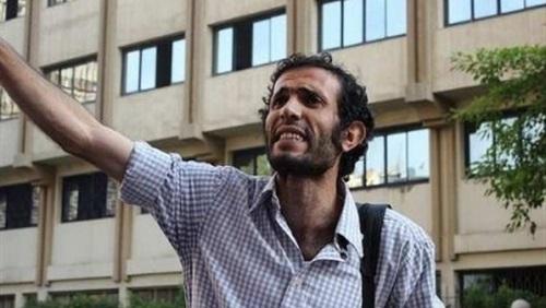 رفض استئناف الناشط هيثم محمدين علي  حبسه 15 يومًا