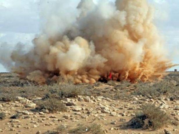 إصابة اثنين في انفجار عبوة ناسفة بشمال سيناء