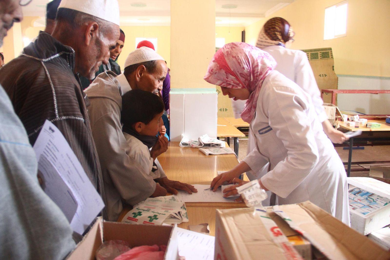قافلة طبية بمستشفى القرنة برعاية شيخ الأزهر
