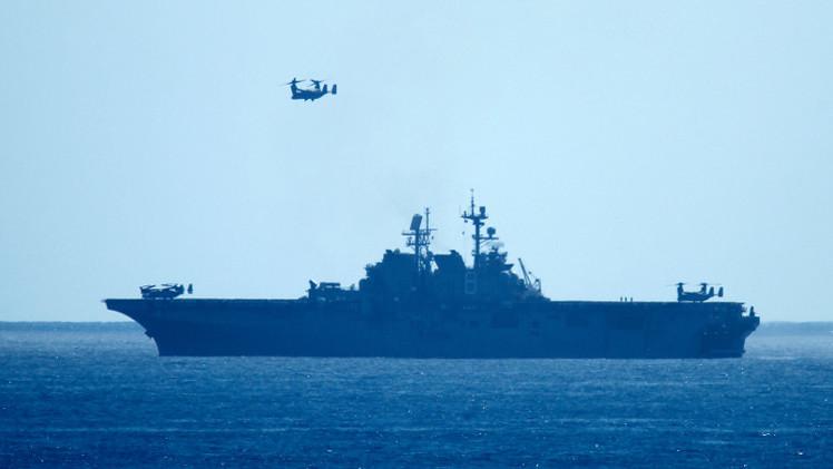 سفن أوروبية تبدأ حظر وصول الأسلحة لليبيا