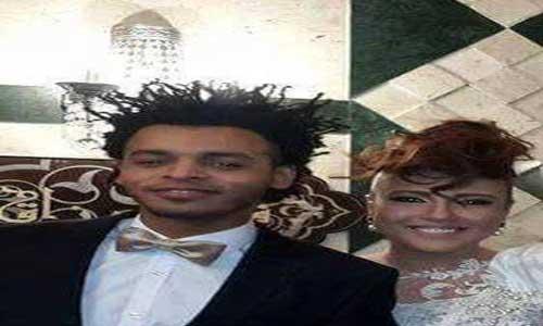 أول صورة لزواج مي كساب وأوكا تثير السخرية بالفيس بوك