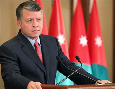 عاهل الأردن: حل القضية الفلسطينية مدخل لحل جميع صراعات المنطقة