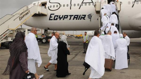 مغادرة الفوج الأول من حجاج غزة عبر مطار القاهرة
