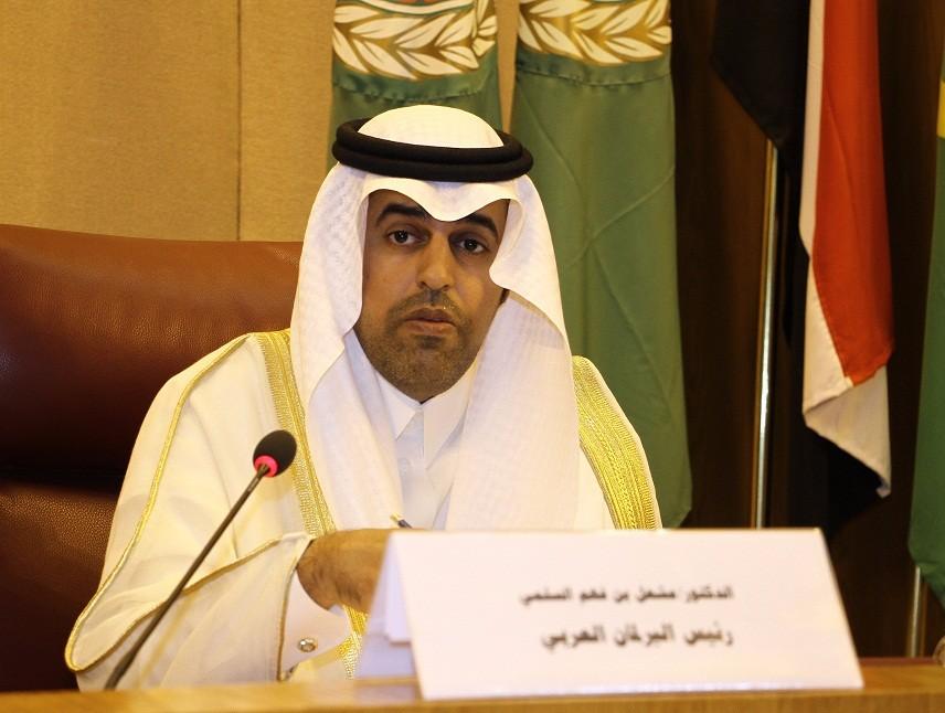 رئيس البرلمان العربي يطالب بتجريم الاستيطان