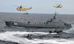 مناورات عسكرية للقوي لعظمي بمياه الخليج العربي