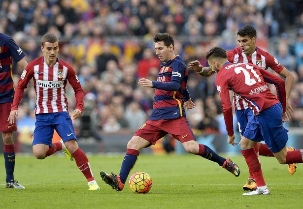 تشكيل برشلونة وأتليتكو مدريد