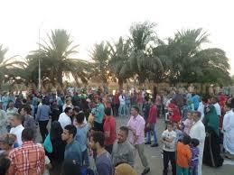 توافد المواطنين على الحدائق العامة فى أول أيام العيد