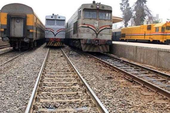 قطارات المنيا