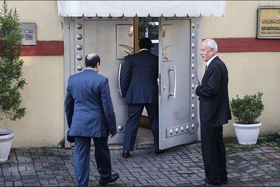 القنصلية السعودية في تركيا