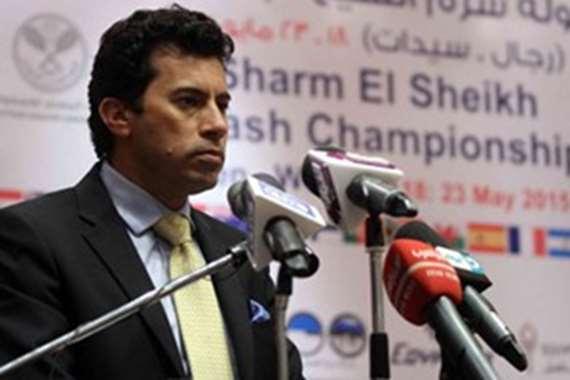 أشرف صبحي وزير الشباب و الرياضة