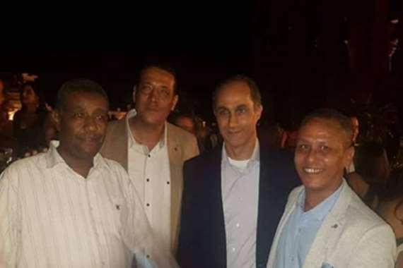 جمال مبارك يظهر في حفل زفاف بمعبد فيلة