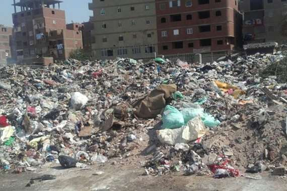 تراكم القمامة