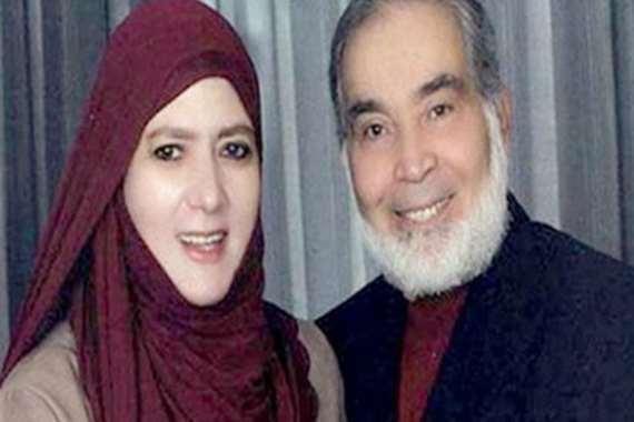 شمس البارودي وزوجها حسن يوسف