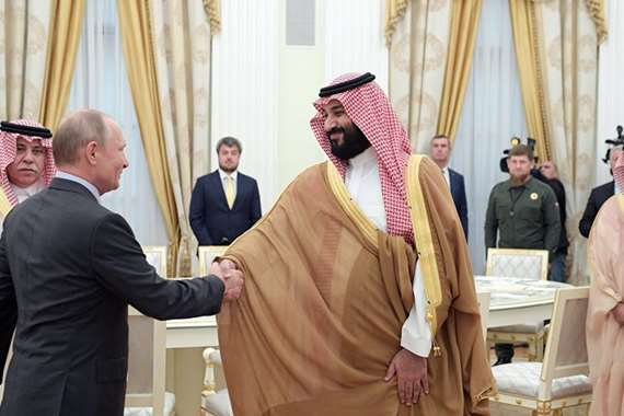 بوتين   وبن سلمان