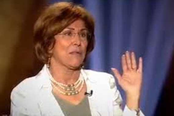 الصحفية فريدة الشوباشي