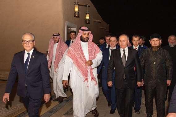 بوتين والملك سلمان