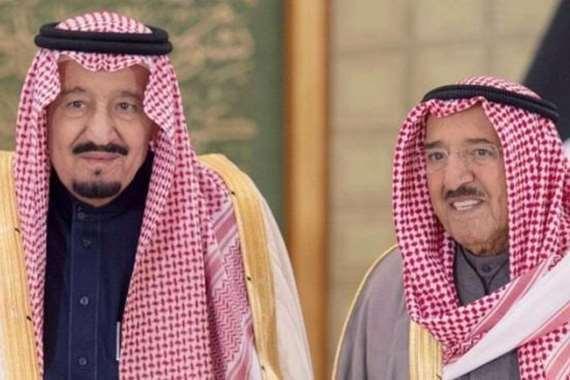الملك سلمان والشيخ صباح الأحمد
