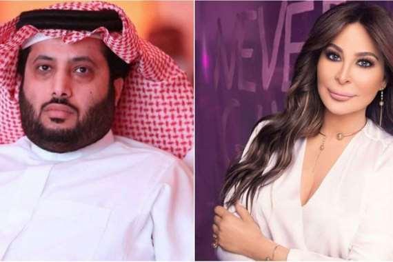 اليسا وتركي آل الشيخ