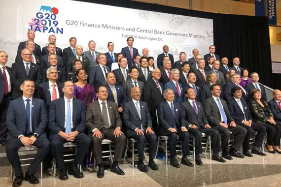 اجتماع وزراء مالية مجموعة العشرين بواشنطن