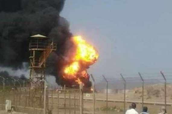 حريق هائل بأكبر مصفاة نفط بإيران