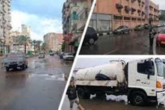 رجل أعمال مصري اللي ساكن جنب الإخوان يعزل علشان الأمطار