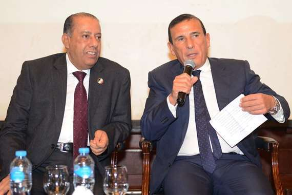 عبد العظيم حسين رئيس مصلحة الضرائب