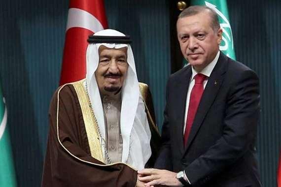 الملك سلمان و أردوغان