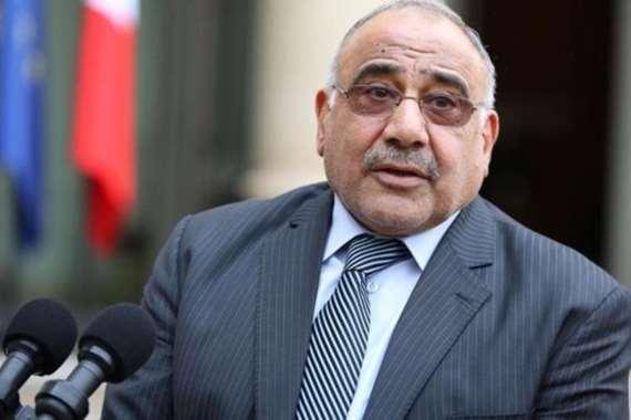 عادل عبد المهدي رئيس الوزراء العراقي