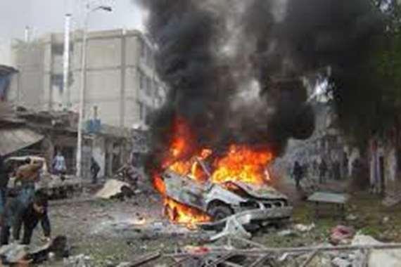 تفجير سيارة مفخخة بأفغانستان