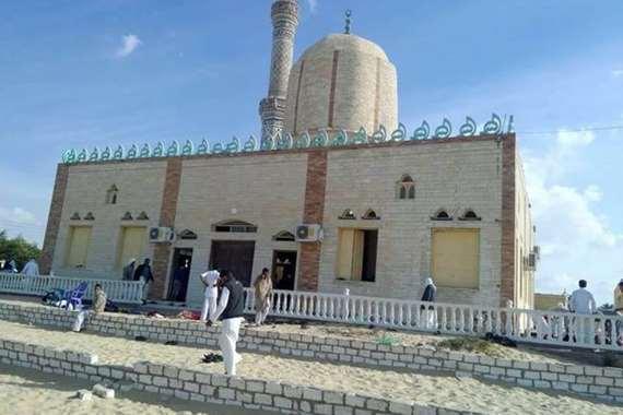 مسجد الروضة الذي شهد الهجوم الإرهابي