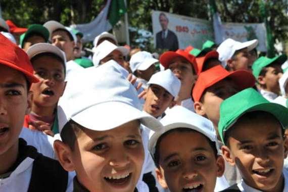 أطفال جزائريون في ولاية سطيف