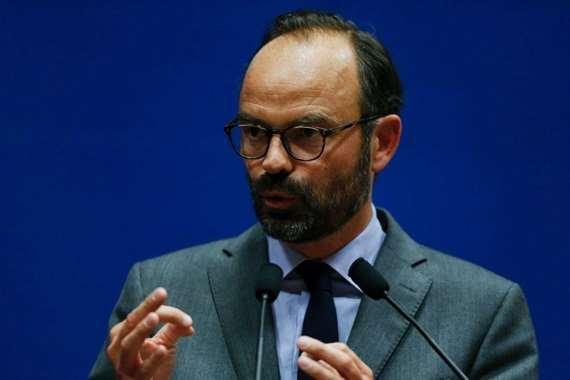 رئيس الوزراء الفرنسي، إدوارد فيليب،