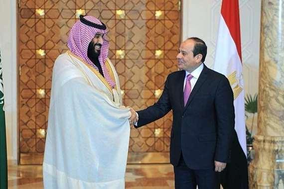 الرئيس السيسي وبن سلمان