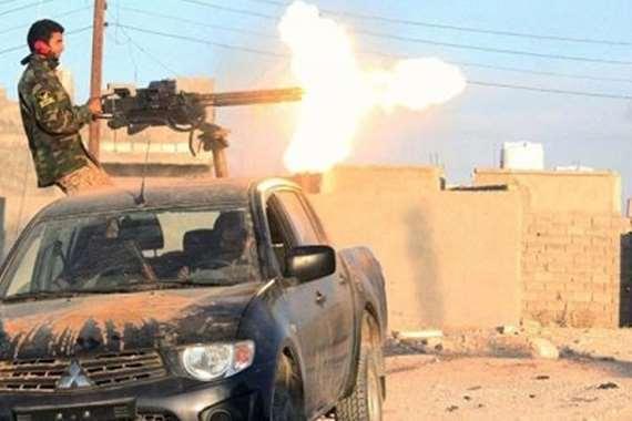 هجوم مسلح في ليبيا - أرشيفية