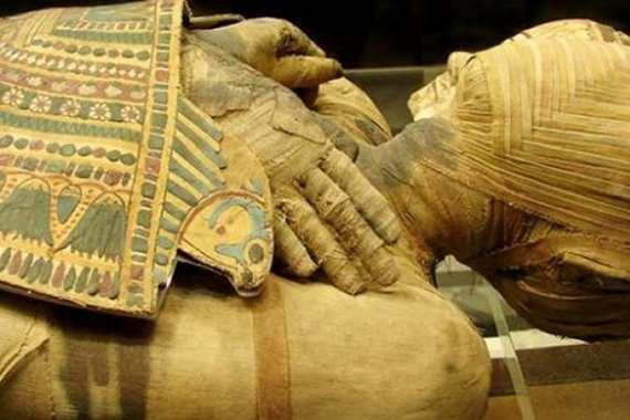 مومياء مصرية (أرشيفية)