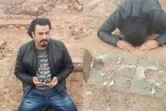 فنان مغربي يعثر على قبر والده