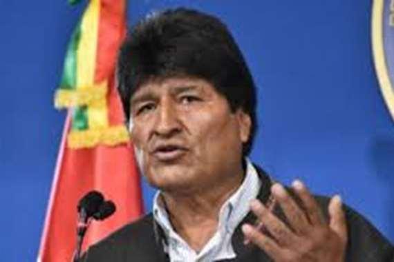 """الرئيس البوليفي المستقيل """"إيفو موراليس"""""""