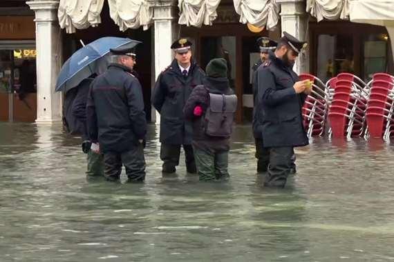فيضانات البندقية