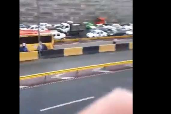 مظاهرات في إيران