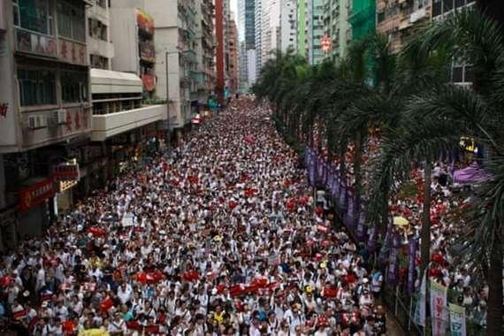 مظاهرت هونج كونج