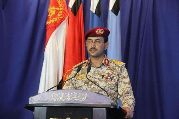 """المتحدث العسكري باسم جماعة """"الحوثي""""، العميد يحيى سريع"""